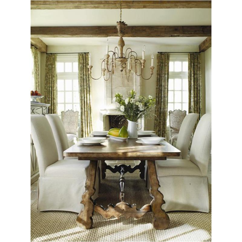 3001 75200 Hooker Furniture Sanctuary Dining Room Dining Table