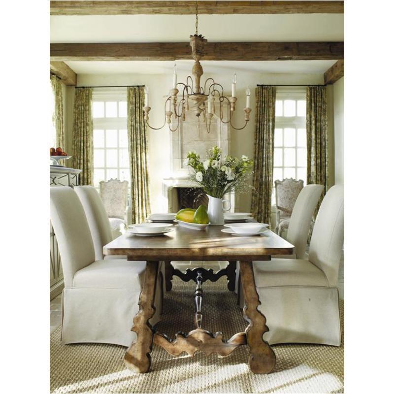 Bon 3001 75200 Hooker Furniture Sanctuary Dining Room Dining Table