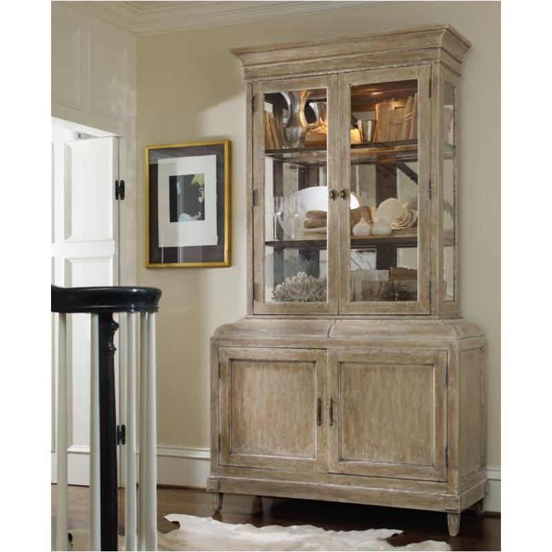 Charmant 3017 75901 Hooker Furniture Sanctuary China Cabinet With Hutch   Parchment