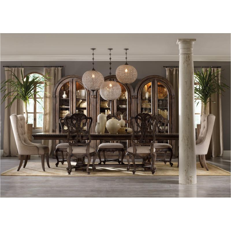 5070 75008 Hooker Furniture Rhapsody Dining Room Dining Table