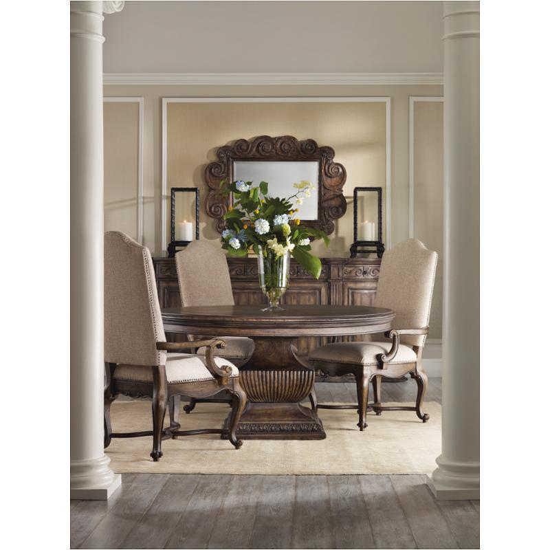 Delightful 5070 75002 Hooker Furniture Rhapsody Dining Room Dining Table