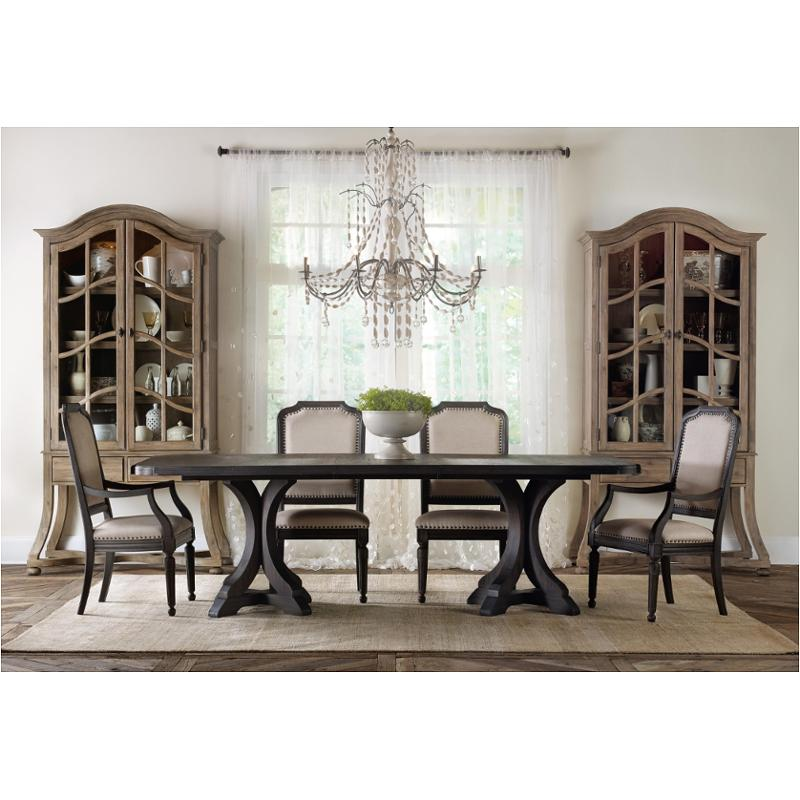 5280 75004 Hooker Furniture Corsica Espresso Dining Table