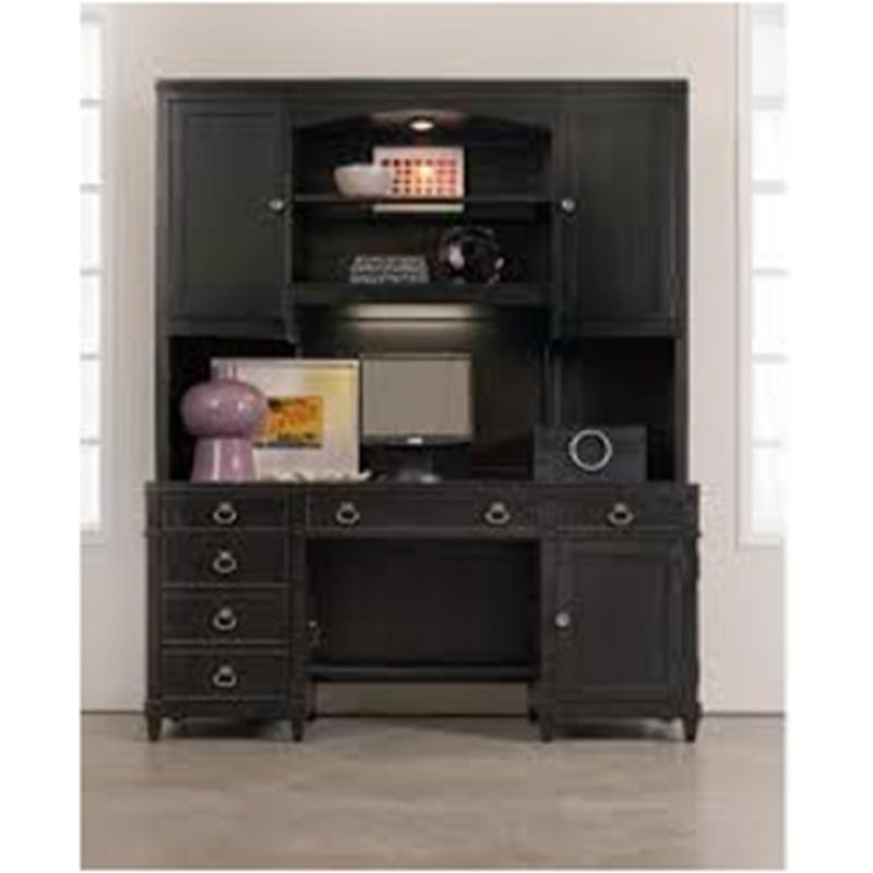 1060-10464 Hooker Furniture Computer Credenza With Tall Hutch