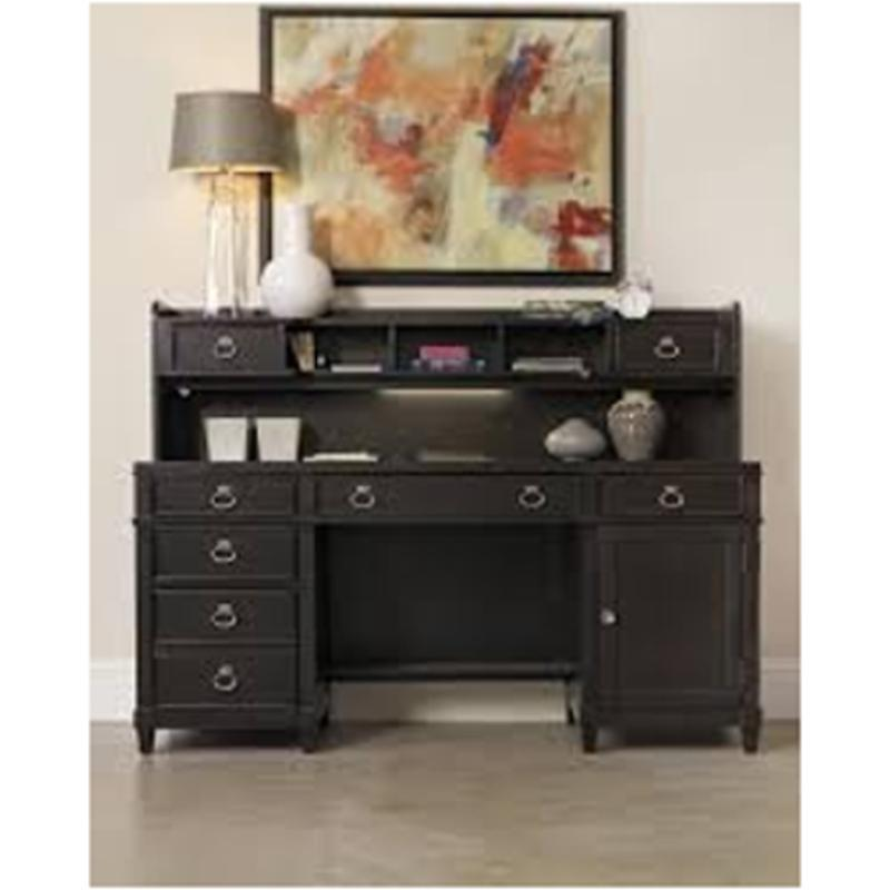 1060 10464 Sh Hooker Furniture Kendrick Computer Credenza With Smart Hutch