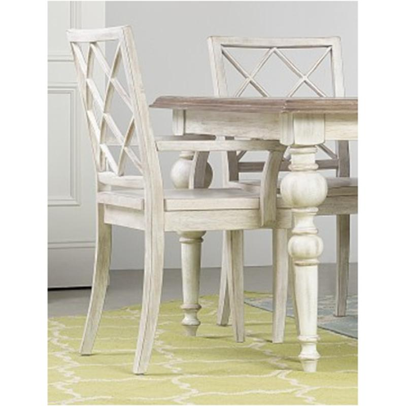 Delicieux 5325 75300 Hooker Furniture Sunset Point   Hatters White Dining Room Dining  Chair