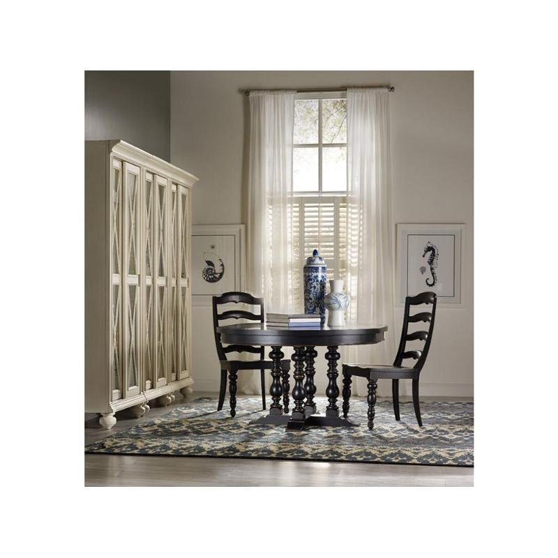 5305 75002 Hooker Furniture Beaufort House Black Dinette Table