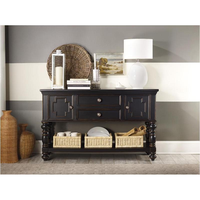 5305 75903 Hooker Furniture Beaufort House   Black Dining Room Sideboard