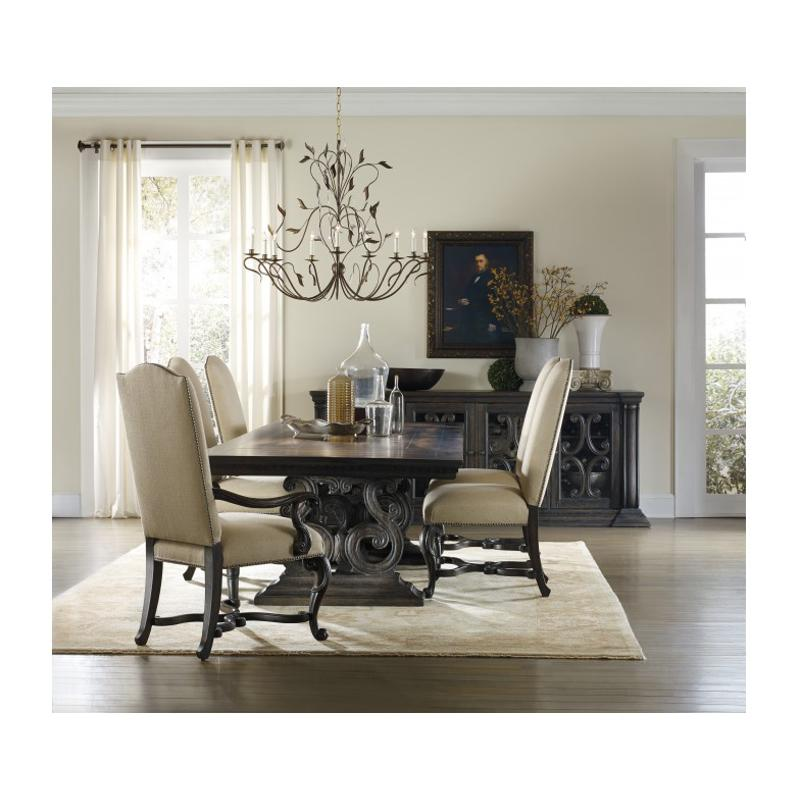 Superior 5165 75004 Hooker Furniture Davalle Dining Room Dining Table