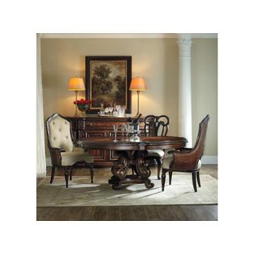 5272 75012 hooker furniture grand palais dining room dinette table