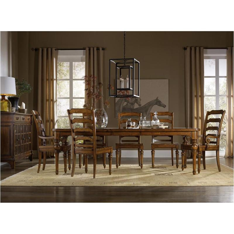5323 75200 Hooker Furniture Tynecastle Dining Room Dining Table