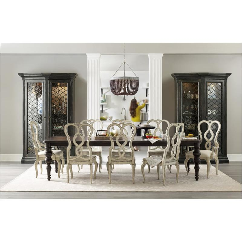 1595 75200 Ltbk Hooker Furniture Auberose Dining Room Dining Table