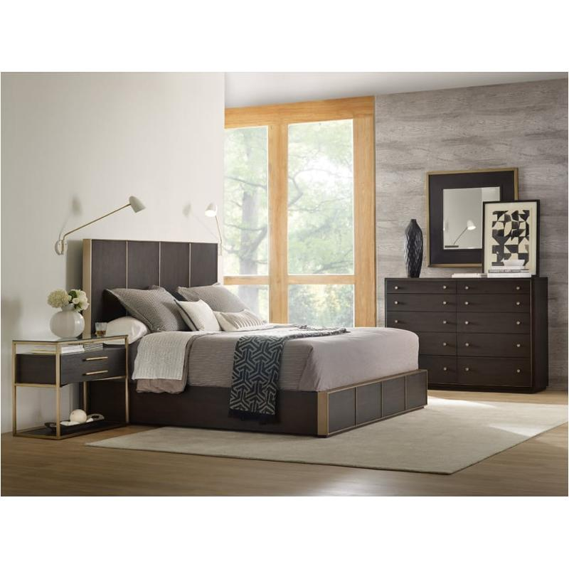 1600 90267 dkw Hooker Furniture Curata Bedroom Bed King california Low