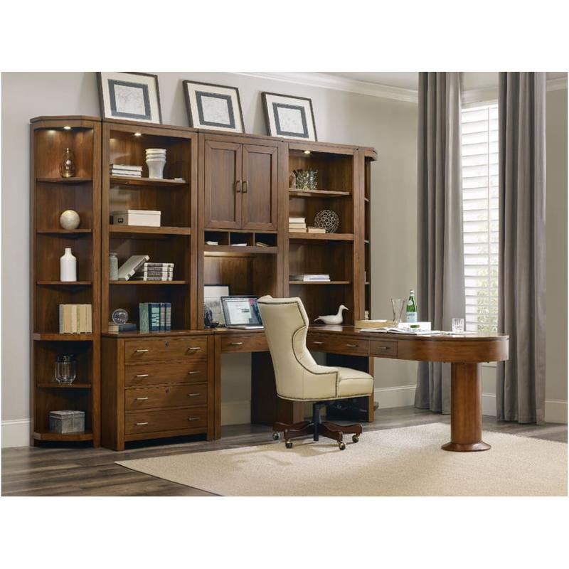 4848 Hooker Furniture Viewpoint Home Office Peninsula Desk Interesting Hooker Furniture Home Office
