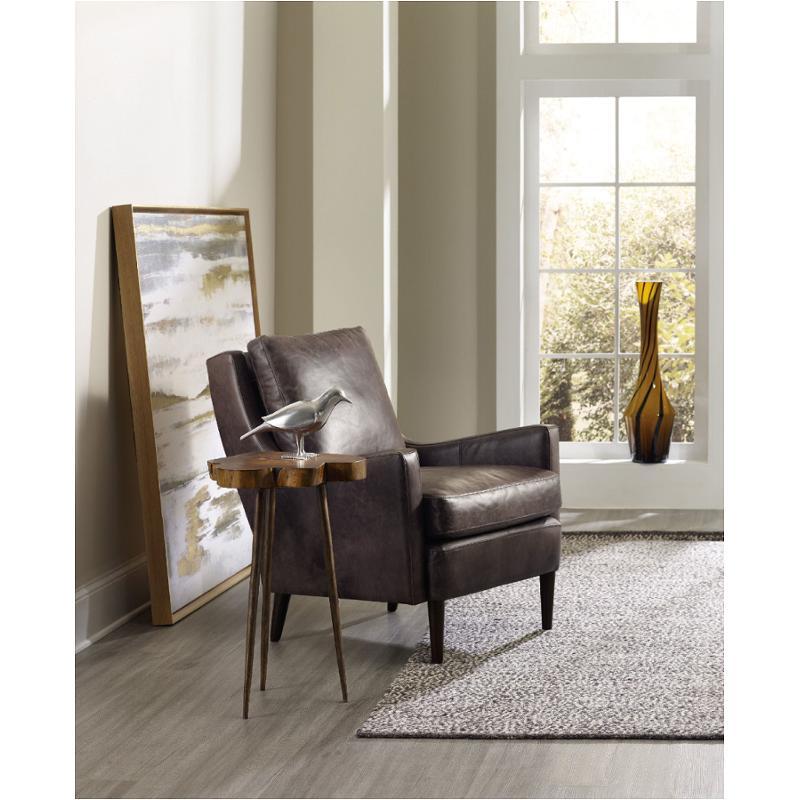 5528 50002 Mwd Hooker Furniture Glen Hurst Acacia Round Slab Table