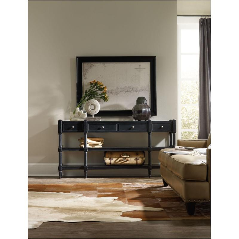 5456 85001 Blk Hooker Furniture Big Sur Living Room Console Table