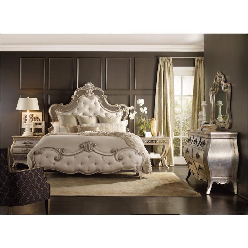5413 90867 Hooker Furniture King California King Upholstered Bed