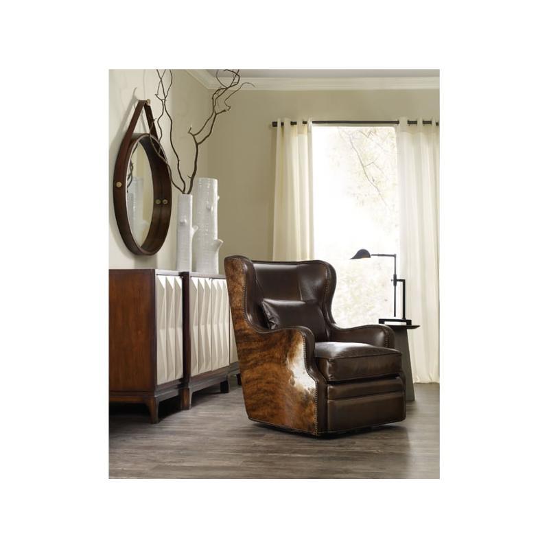 Cc418 Sw 086 Furniture Swivel Club Chair