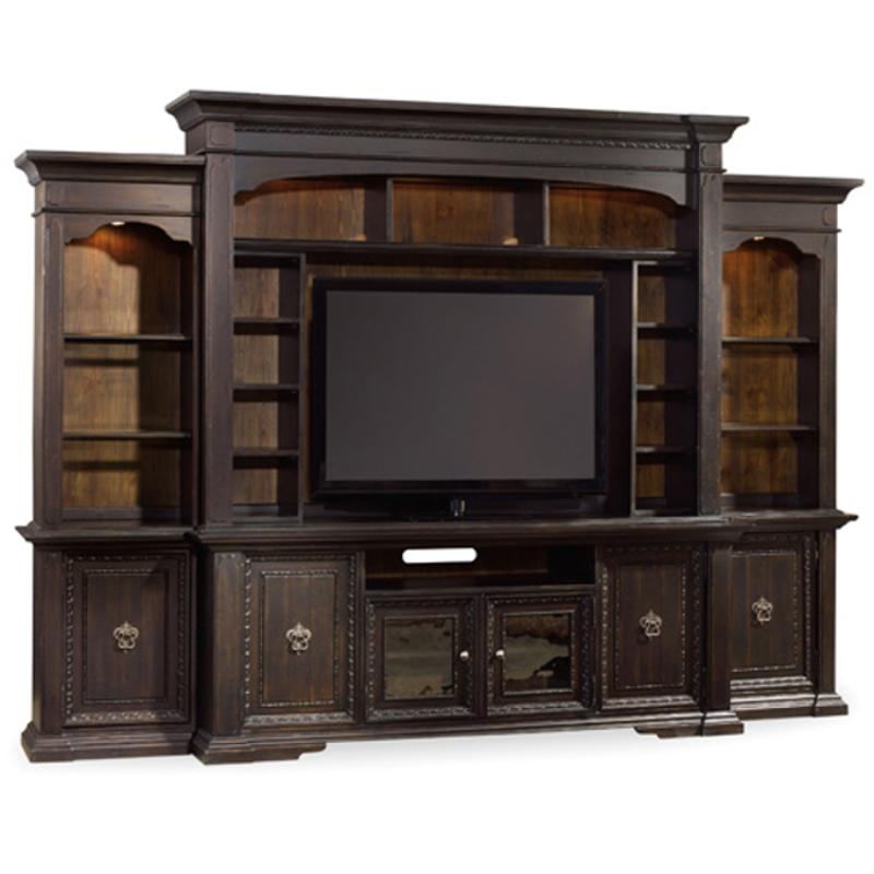 Furniture Com Coupons: 5374-70452 Hooker Furniture Treviso Living Room Right Pier