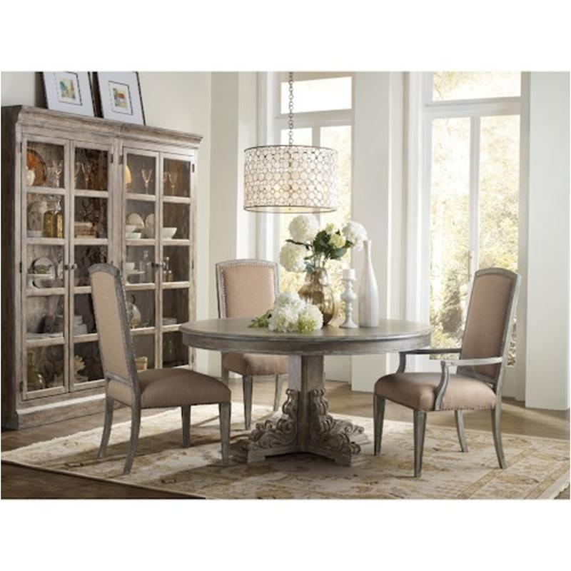5701-75002 Hooker Furniture True Vintage Round Dining Table