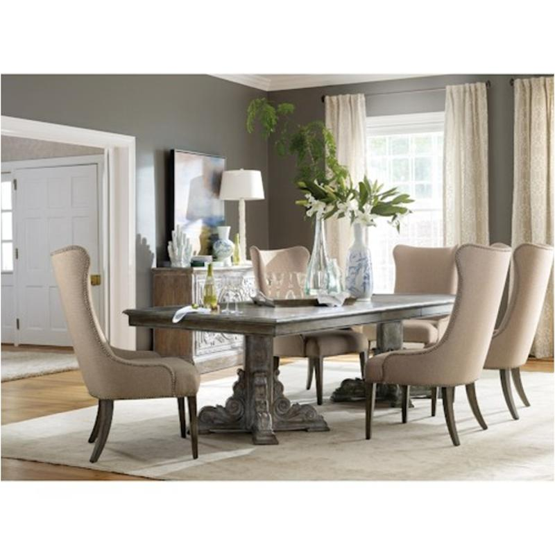 5701 75004 Hooker Furniture True Vintage Dining Room Dining Table