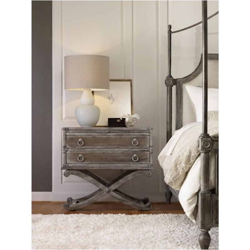 5701-90116 Hooker Furniture True Vintage Two Drawer Nightstand