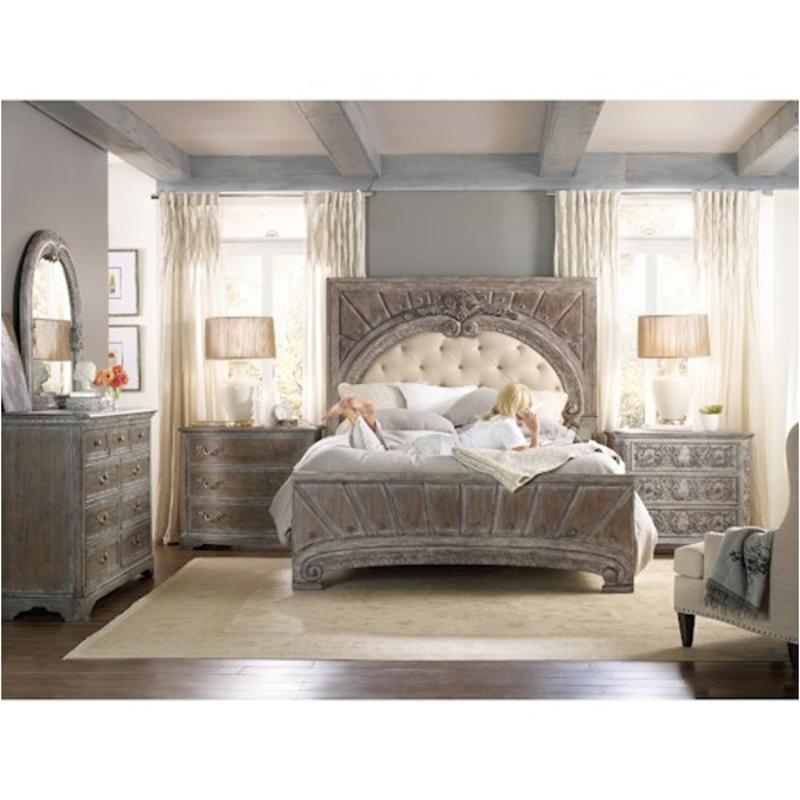 5701 90867 Hooker Furniture True Vintage Bed