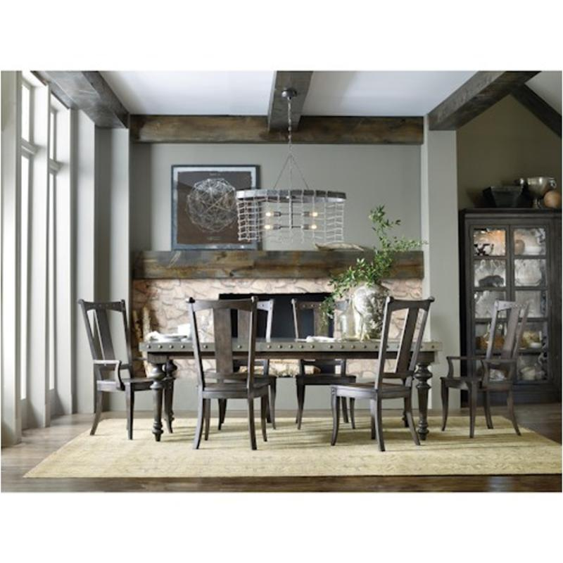 5700 75200 Hooker Furniture Vintage West Dining Room Dining Table
