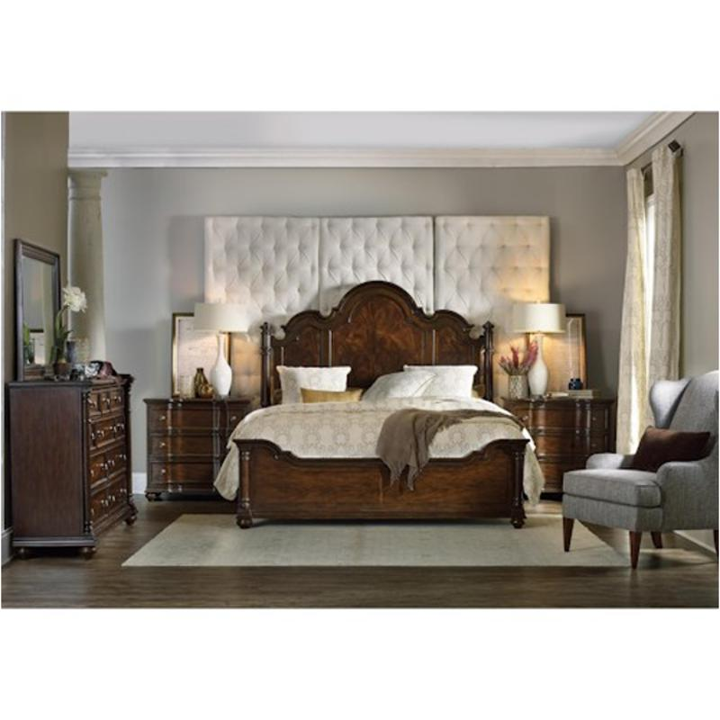 5381 90651 Hooker Furniture Leesburg Queen Poster Headboard