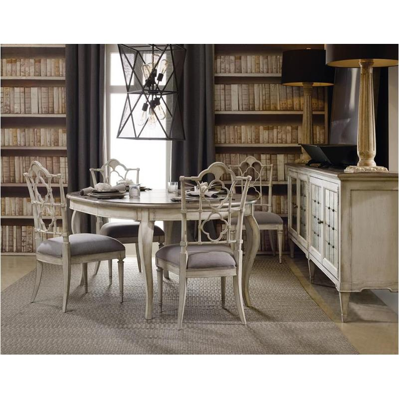 1610 75203 Wh Hooker Furniture Arabella Dining Room Dining Table