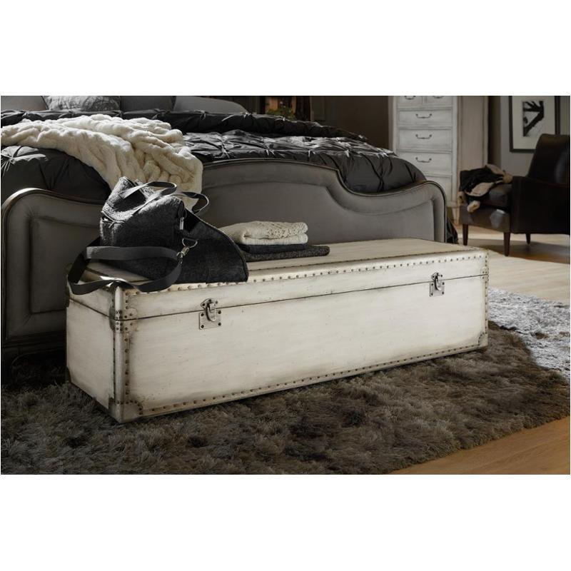 1610-90019-wh Hooker Furniture Arabella Storage Bench