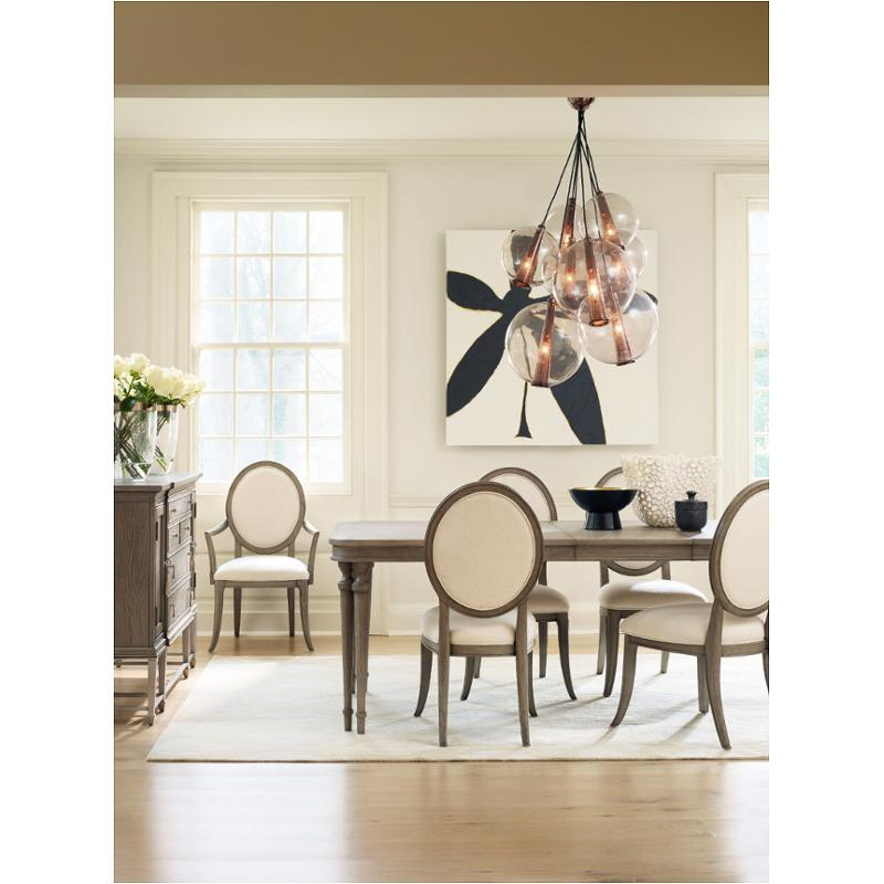 1586 75200 Gry1 Furniture Cynthia Rowley Dining Table With 2 18in Leaves