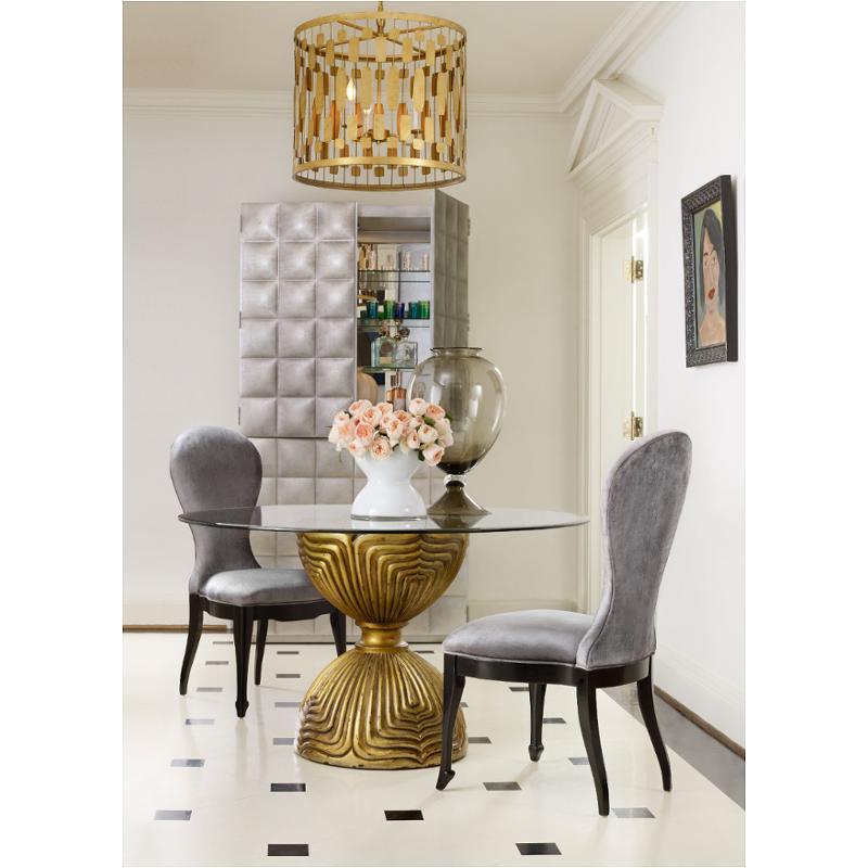1586 75203 Gld3 Furniture Cynthia Rowley Dining Table Base