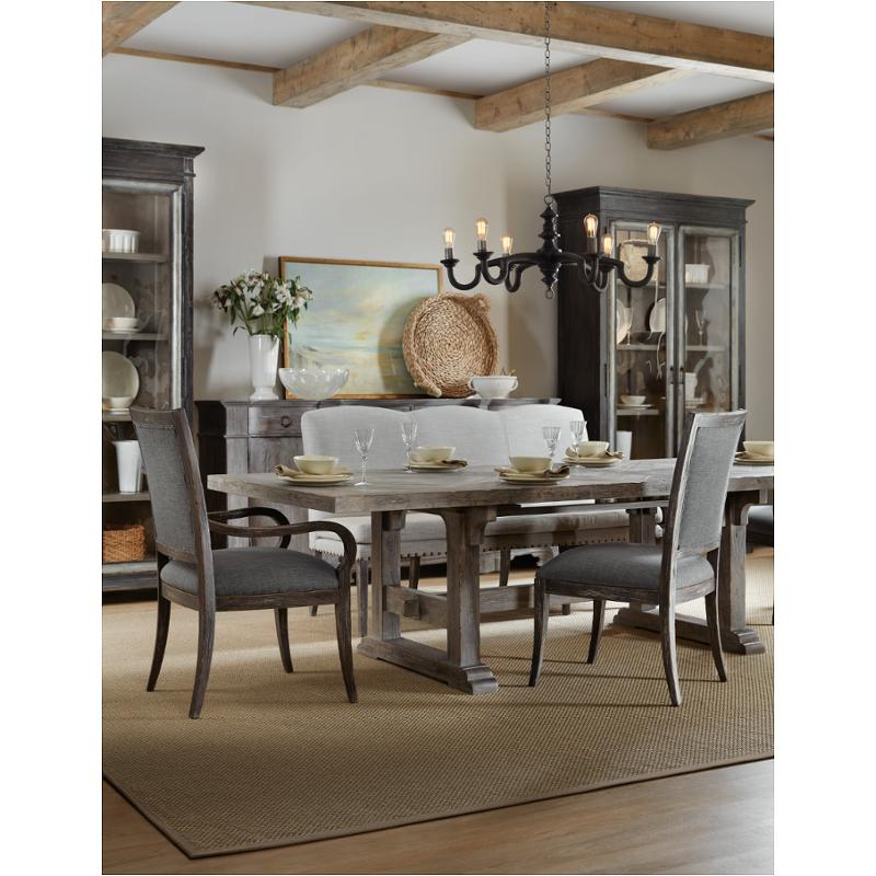 5751-75200t-95 Hooker Furniture Beaumont 84in Rectangular Dining Table