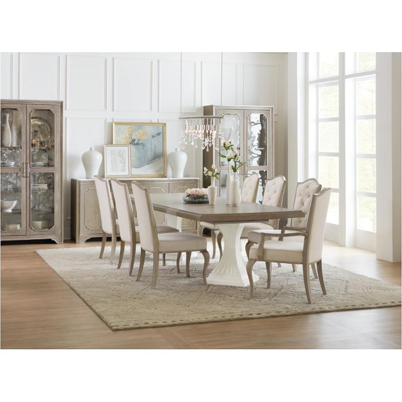 1652-75004-mwd Hooker Furniture Modern Romance Double Pedestal Dining Table