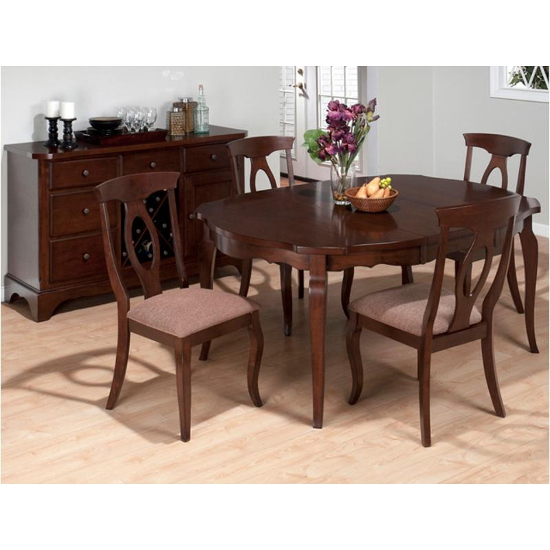 369 66 Jofran Furniture 369 Series Dining Room Shaped Round Table