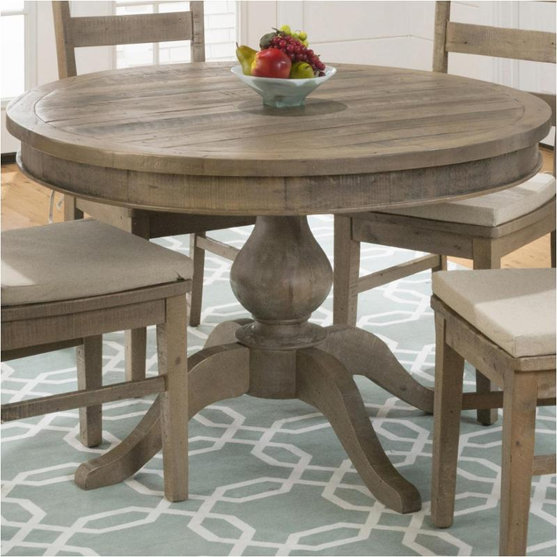 Magnificent 941 66T Jofran Furniture 941 Series Reclaimed Pine Round To Oval Dining Table Squirreltailoven Fun Painted Chair Ideas Images Squirreltailovenorg