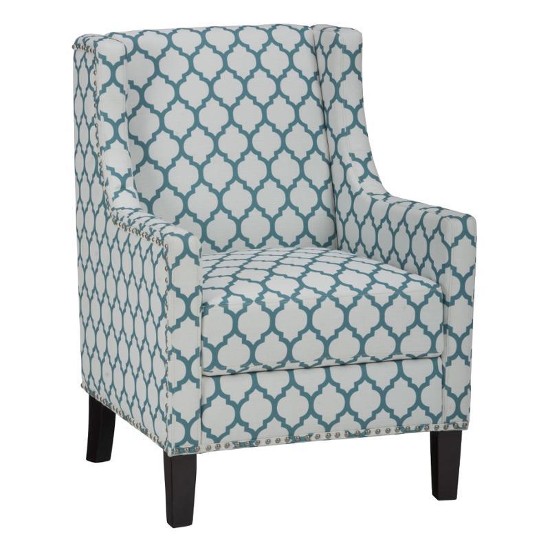 Jeanie-ch-aqua Jofran Furniture Jeanie Accent Accent Chair  sc 1 st  Home Living Furniture & Jeanie-ch-aqua Jofran Furniture Jeanie-ch-aqua Accent Chair