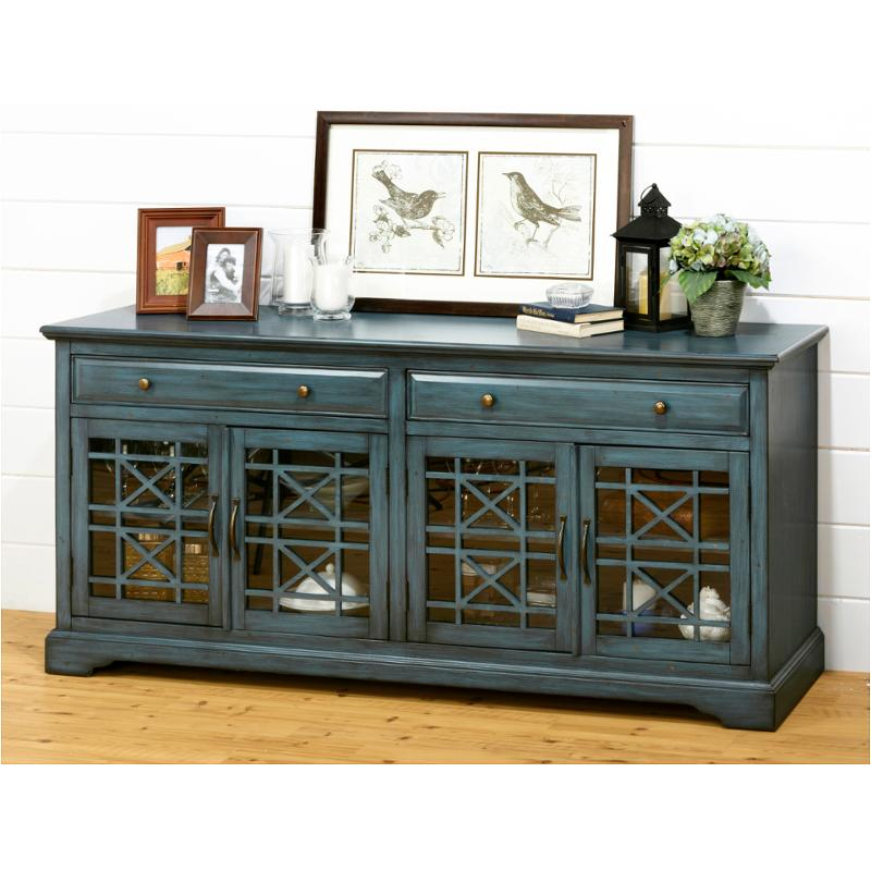 Incroyable 175 60 Jofran Furniture Craftsman   Antique Blue Accent Credenza