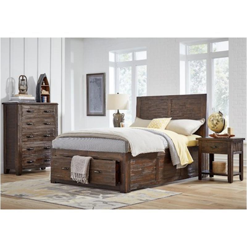 1605-75 Jofran Furniture Jackson Lodge Bedroom Full Panel Bed