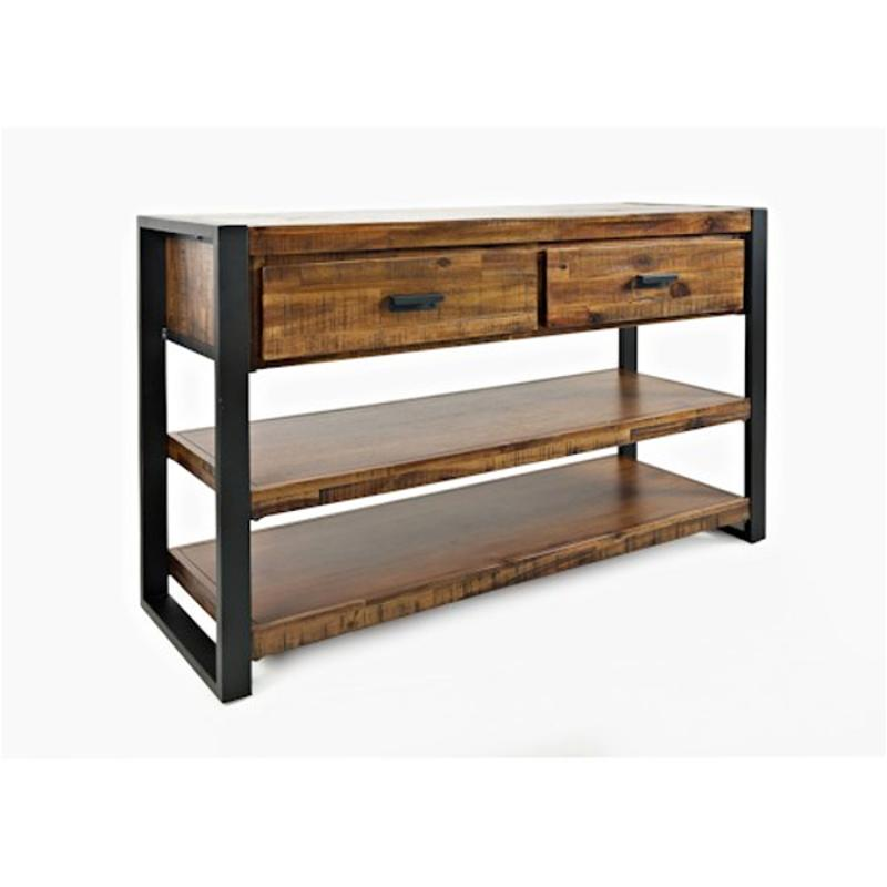 1690 9 Jofran Furniture Loftworks Sofa Media Console With 2 Drawers Shelves