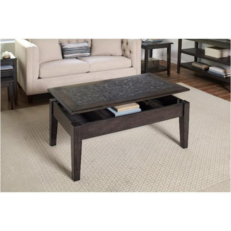 1798 5 Jofran Furniture Grey Mosaic Lift Top Cocktail Table
