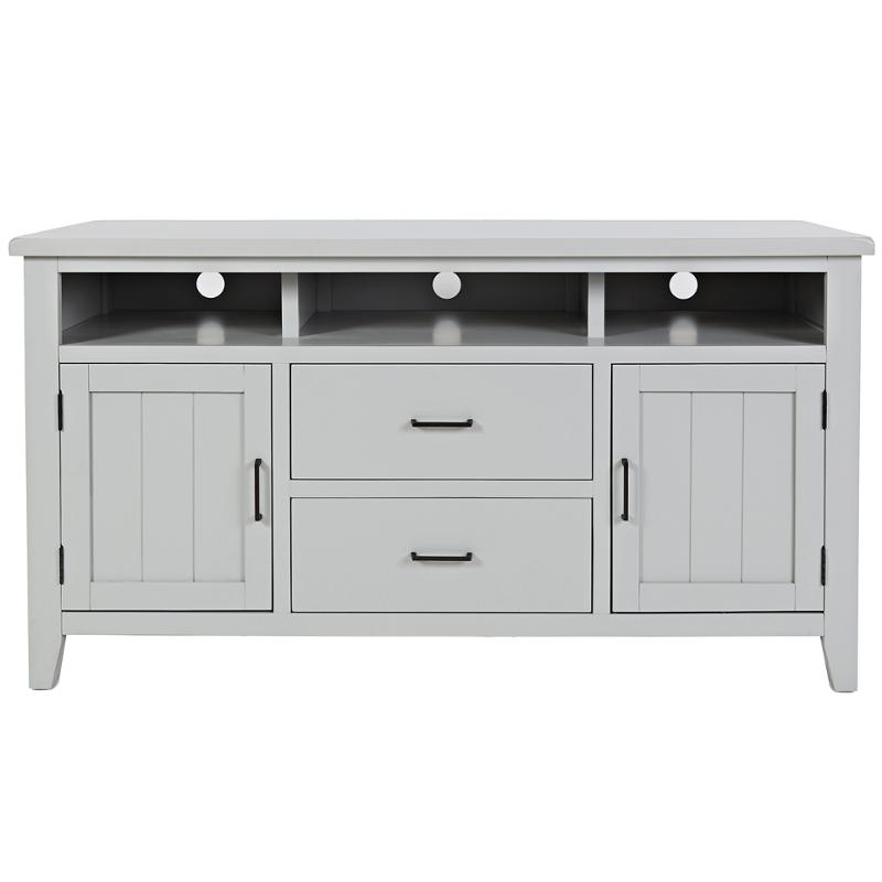 1713 60 Jofran Furniture Dover Point Grey Home Entertainment Tv Console
