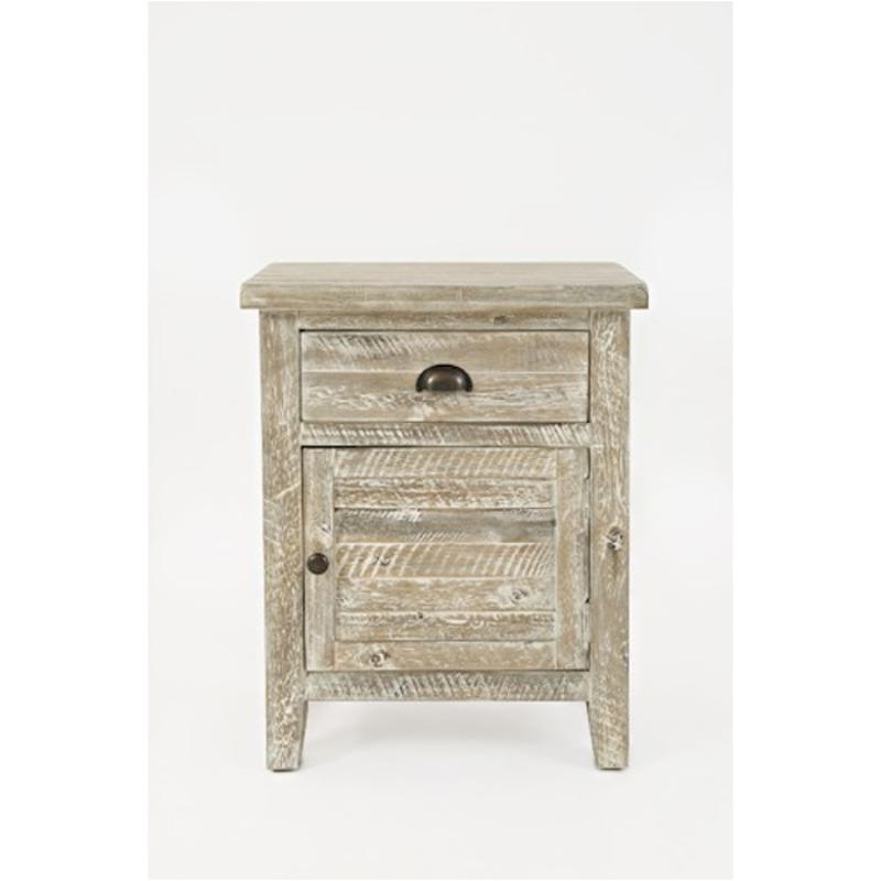 1743 20 Jofran Furniture Artisans Craft   Grey Accent Accent Table