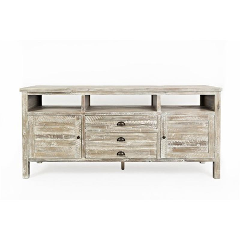 1743 70 Jofran Furniture S Craft Grey Home Entertainment Tv Console