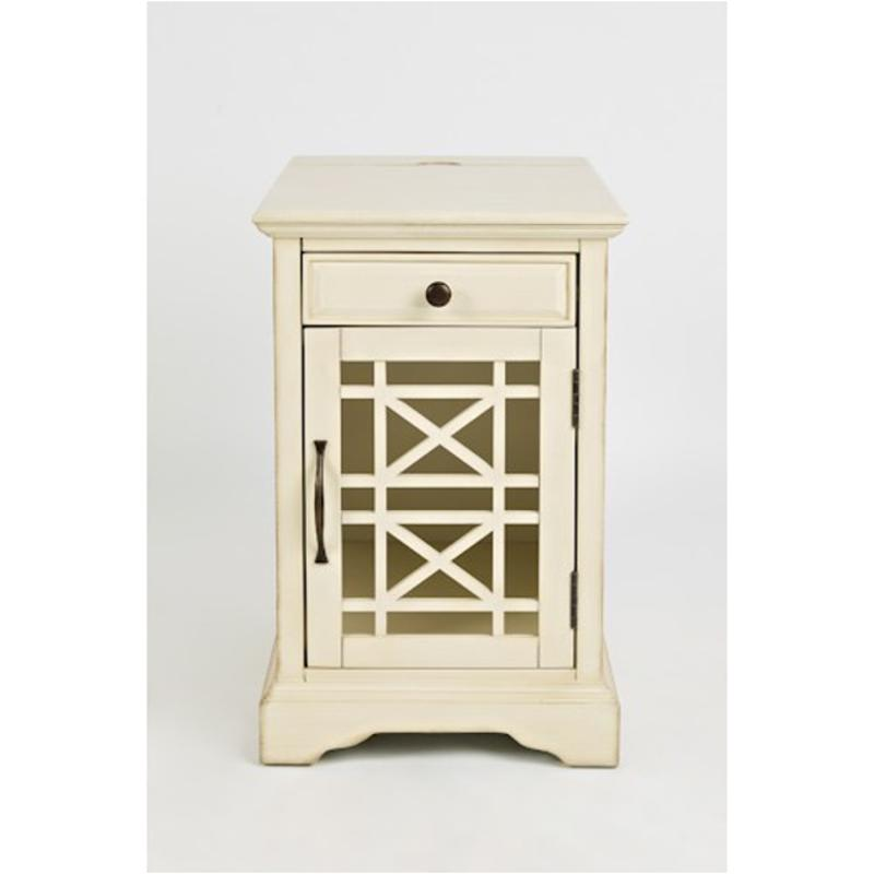 . 675 22 Jofran Furniture Craftsman   Antique Cream Power Chairside