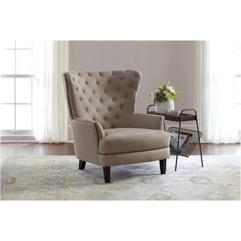 Taupe Accent Chairs.Conner Ch Taupe Jofran Furniture Conner Large Scale Wing Back Chair