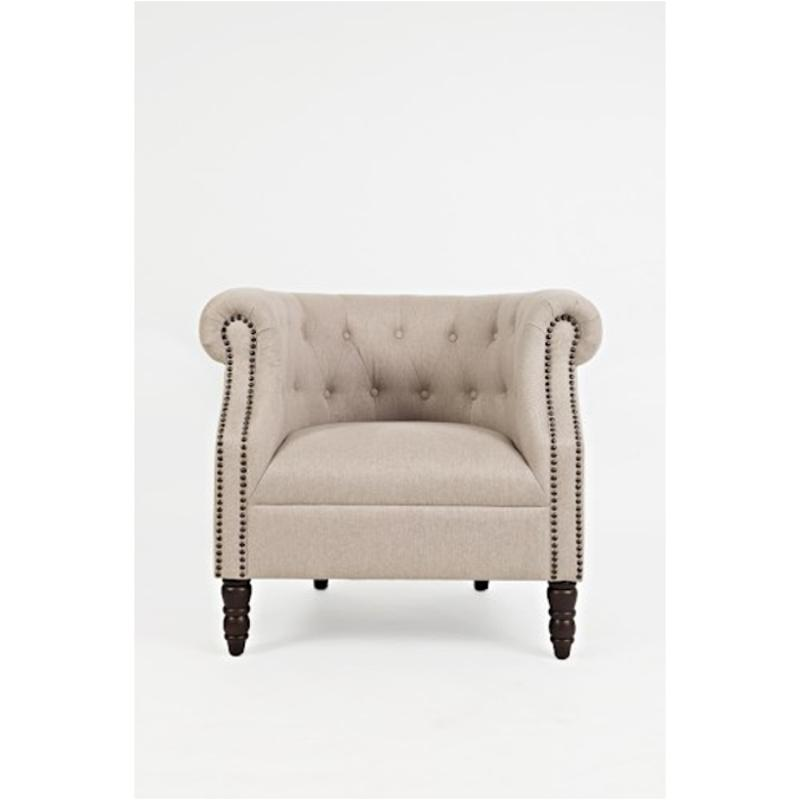 Grace Ch Taupe Jofran Furniture Grace Accent Accent Chair