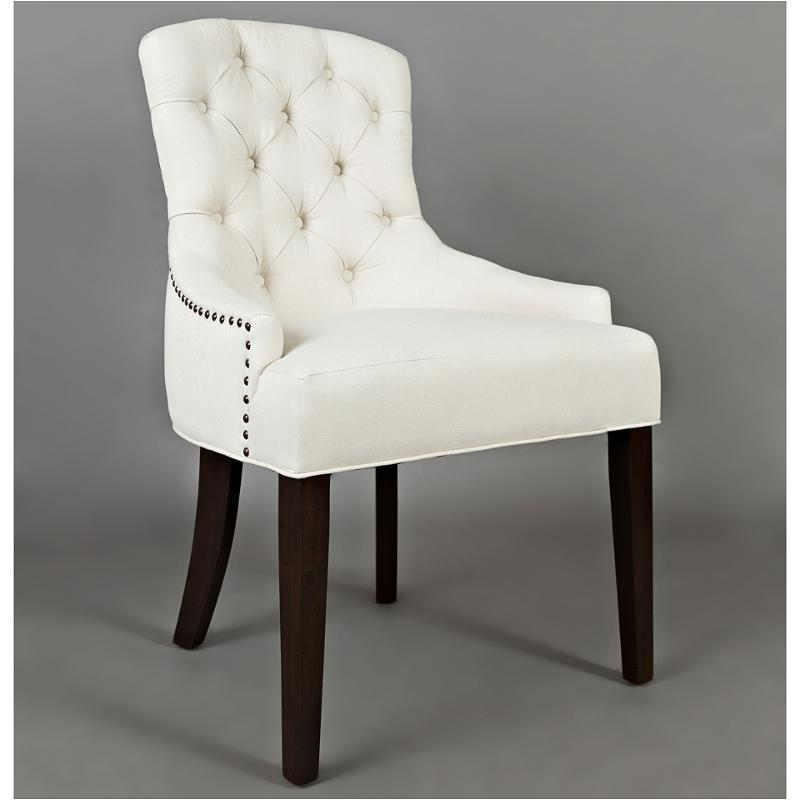 Outstanding Pierce Ch Ivory Jofran Furniture Pierce Button Tufted Side Chair Frankydiablos Diy Chair Ideas Frankydiabloscom