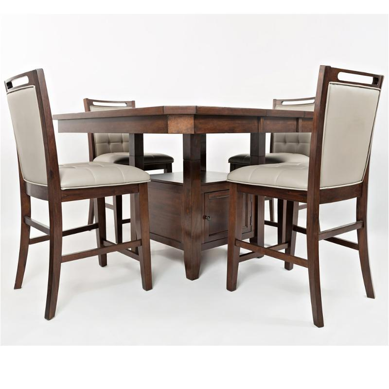 1672 54t Jofran Furniture Manchester Merlot Dining Table