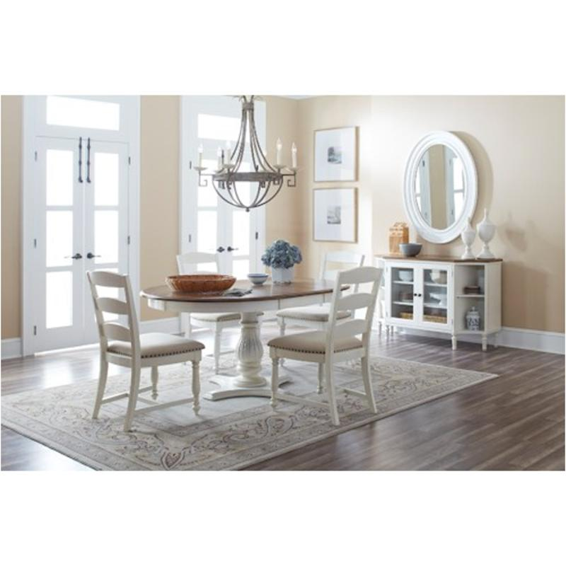 1776-66t Jofran Furniture Castle Hill - Antique White Dining Room Dining Table  sc 1 st  Home Living Furniture & 1776-66t Jofran Furniture Round To Oval Dining Table